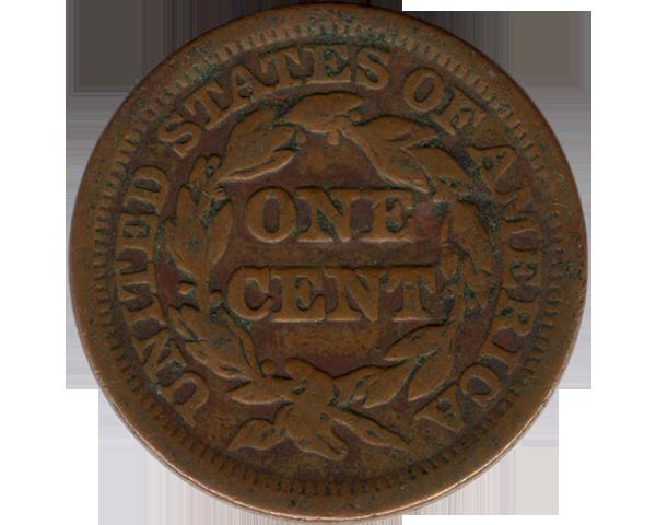 1849 Cent